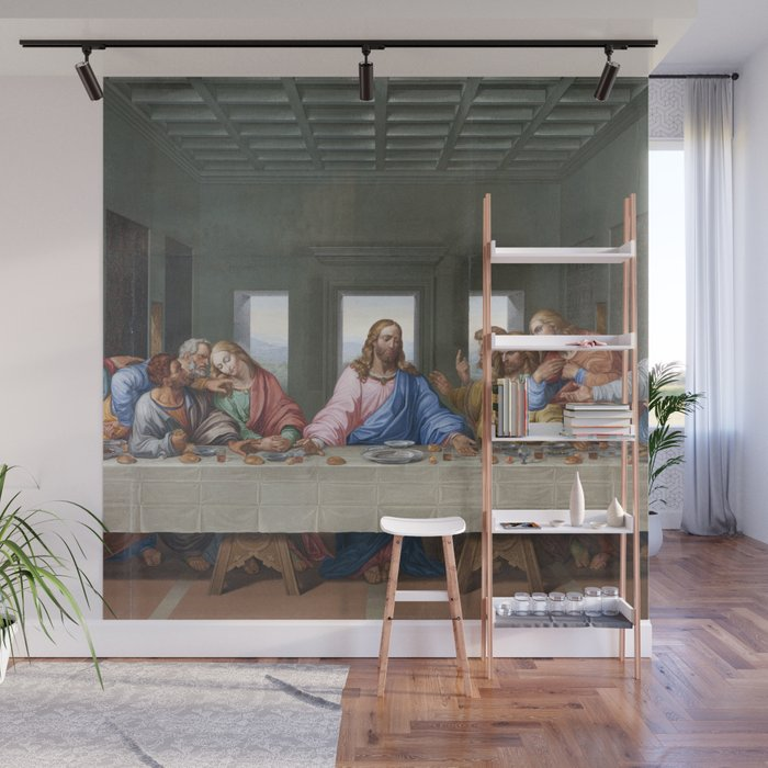 The Last Supper By Leonardo Da Vinci Wall Mural By Palazzoartgallery