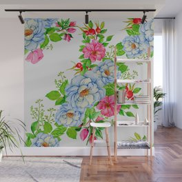 Vintage Floral Pattern No. 7 Wall Mural