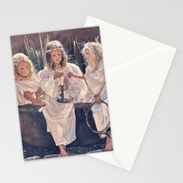 Reproduction Candle in the wind Steve Hanks Stationery Cards