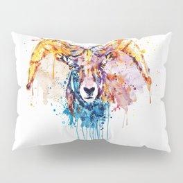 Bighorn Sheep Portrait Pillow Sham