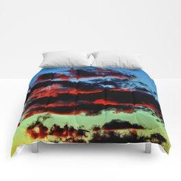 Red Dusk Comforters