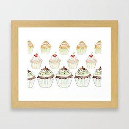 Have a Cupcake! Framed Art Print