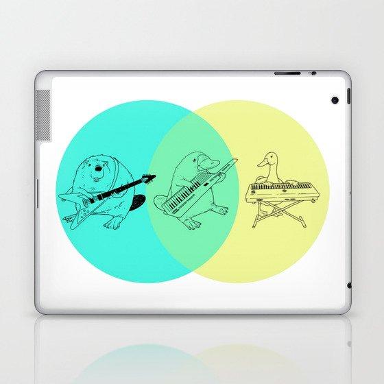 Keytar Platypus Venn Diagram Laptop Ipad Skin By Jamesmichals