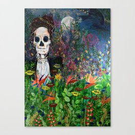 The cycle of Life and Death Canvas Print