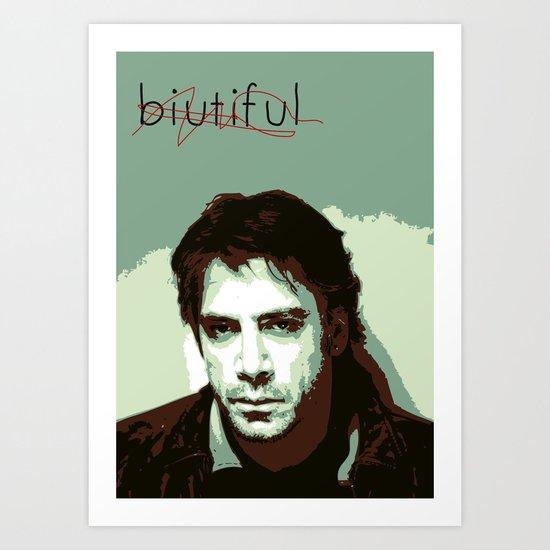 Biutiful (2010) Art Print