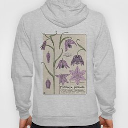 Maurice Verneuil - Fritillaire - botanical poster Hoody