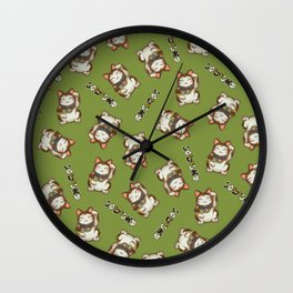 Maneki Neko Mhysa Wall Clock