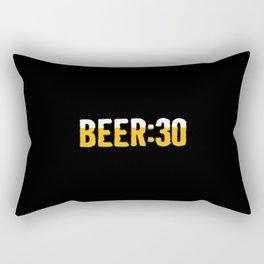 Beer Thirty Rectangular Pillow