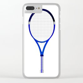 Tennis Racket Clear iPhone Case