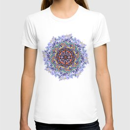En Force Sri yantra T-shirt