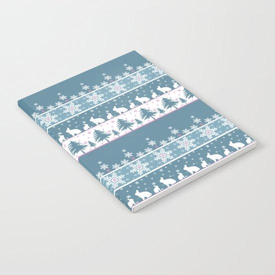 Retro .Christmas . Notebook