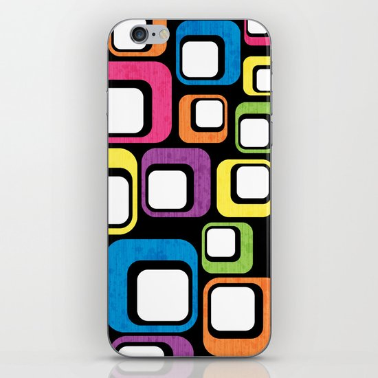 Retro All Sorts. iPhone & iPod Skin