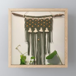 Macrame Framed Mini Art Print