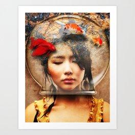 HVH Joa Art Print