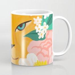 Mother Lion and Cub I Coffee Mug