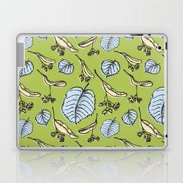 Linden pattern in sring colors Laptop & iPad Skin