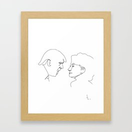 Election 2016 Framed Art Print