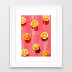 fruit 5 Framed Art Print