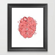 Thought Process Framed Art Print
