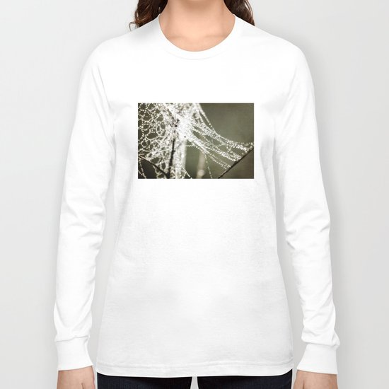 the work of a spider Long Sleeve T-shirt