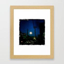 Montreal Blues Framed Art Print