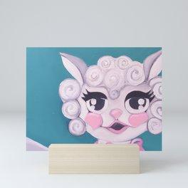 L A M B Mini Art Print