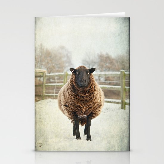 Zombie sheep Stationery Cards