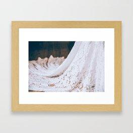 Laced Detail Framed Art Print