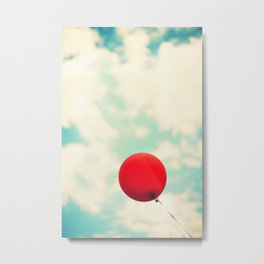 Nowhere To Go But Up Metal Print