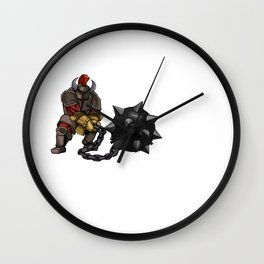 Heavily Armed Wall Clock