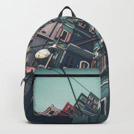 Yard in Inner Town Backpack