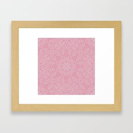 Mandala 19 Framed Art Print