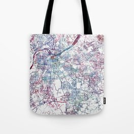 Louisville map (without name) Tote Bag