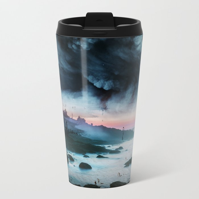 Atomic Boy Metal Travel Mug