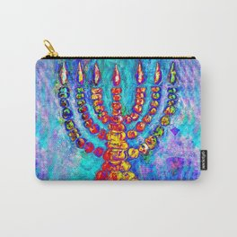 Temple Menorah Carry-All Pouch