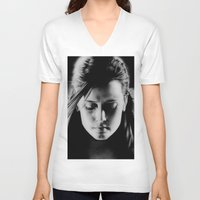 sin city V-neck T-shirts featuring Sin City by ClaM