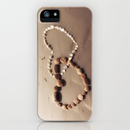 Stone Hearts iPhone Case