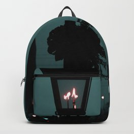 The lonely night Ferris-wheel Backpack