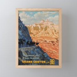 Werbeplakat Grand Canyon Framed Mini Art Print