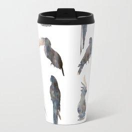 Tropical Birds Travel Mug