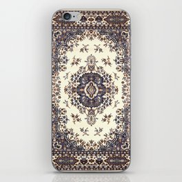 V8 Moroccan Epic Carpet Texture Design. iPhone Skin