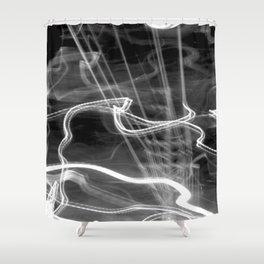 Spirit Power Inside (B&W) Shower Curtain
