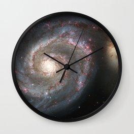 Messier 51 Wall Clock