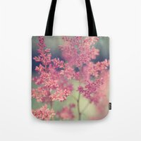 coral Tote Bags featuring Coral by Sandra Arduini