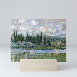 View of Vétheuil-sur-Seine by Claude Monet Mini Art Print