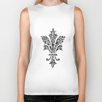 royal Biker Tanks featuring Royal by Candace Fowler Ink&Co.