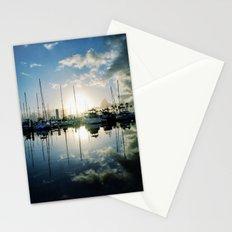 mirrored marina Stationery Cards