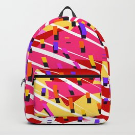 Carnival Confetti Coming Down Backpack