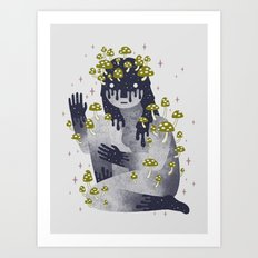 Celestial Decay Art Print