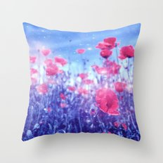 Those Summer Kisses Throw Pillow